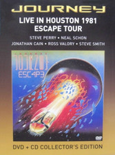 JOURNEY  / Live in Houston 1981 Escape Tour (DVD+CD)
